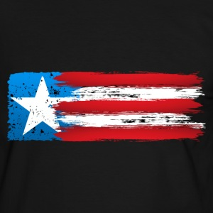 usa flag grunge style 03 Tee shirts - T-shirt contraste Homme