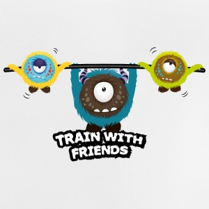Train with friends Shirts - Baby T-Shirt