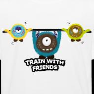 Trainiere mit Freunden T-Shirts