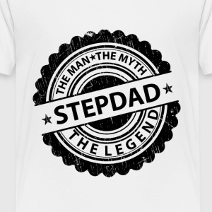 Stepdad-The Man The Myth The Legend Shirts - Teenage Premium T-Shirt