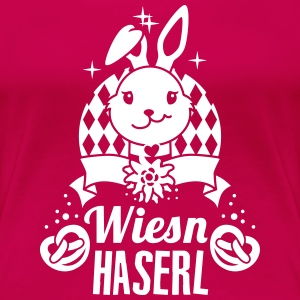 Oktoberfest – Wiesn Haserl – Dirndl – Party – 1C T-Shirts - Frauen Premium T-Shirt