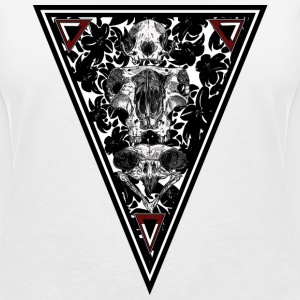 Trinity Skull T-Shirts - Women's V-Neck T-Shirt