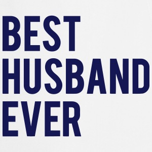 BEST HUSBAND DENS ARE Kookschorten - Keukenschort