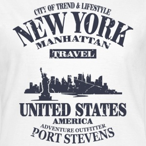 New York  - Vintage Look T-Shirts - Women's T-Shirt