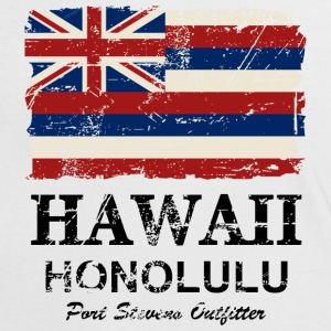 Hawaii Flag - Honolulu - Vintage Look T-Shirts - Frauen Kontrast-T-Shirt