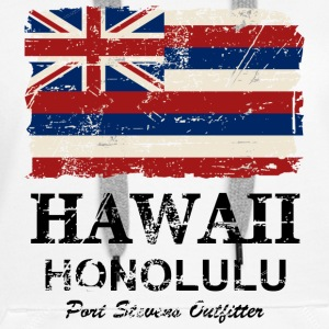 Hawaii Flag - Honolulu - Vintage Look Pullover & Hoodies - Frauen Premium Hoodie