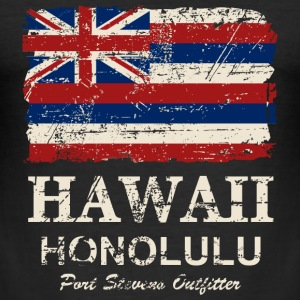 Hawaii Flag - Honolulu - Vintage Look T-Shirts - Männer Slim Fit T-Shirt