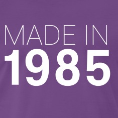 Lila Made in 1985 T-Shirts