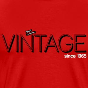 Rouge vintage_1965 Tee shirts - T-shirt Premium Homme