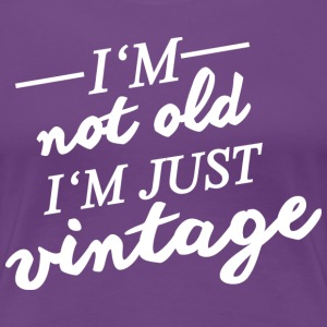 Vintage Birthday T-Shirts, 50th Birthday Gift Idea - Women's Premium T-Shirt