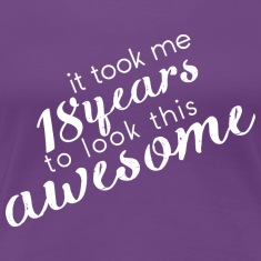 Lila awesome_18 T-Shirts