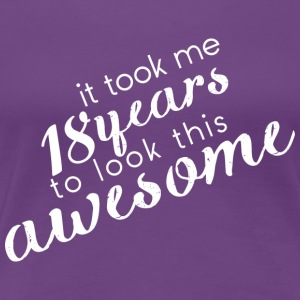 awesome_18 T-Shirts - Vrouwen Premium T-shirt