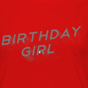 Birthday Girl Long Sleeve Shirts - Vrouwen Premium shirt met lange mouwen