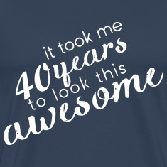 Navy Awesome_40 T-Shirts
