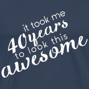 Awesome_40 T-Shirts - Men's Premium T-Shirt