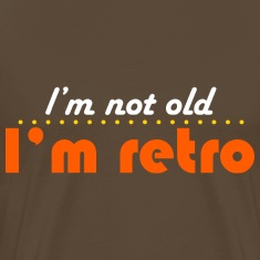 Edelbraun not old but retro T-Shirts
