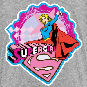 Supergirl Pattern - Teenager Premium T-Shirt