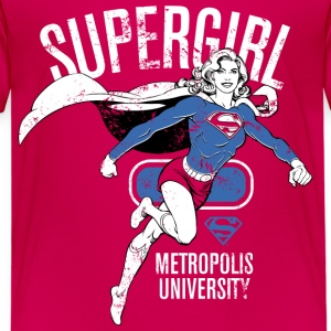 Supergirl Metropolis University - Kinder Premium T-Shirt