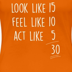 Orange act_look_feel_30 T-Shirts