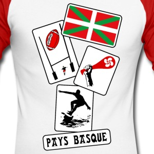 basque sport and tradition 10 Manches longues - T-shirt baseball manches longues Homme