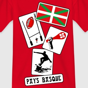 basque sport and tradition 10 Tee shirts - T-shirt Ado