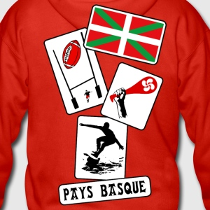 basque sport and tradition 10 Sweat-shirts - Veste à capuche Premium Homme