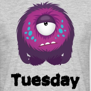 Tuesday Monster T-Shirts - Men's T-Shirt