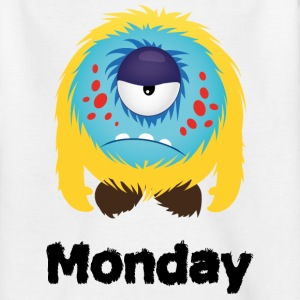 maandag Monster Shirts - Teenager T-shirt