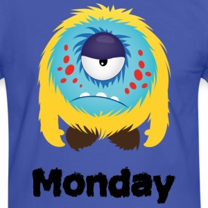 lundi Monster Tee shirts - T-shirt contraste Homme