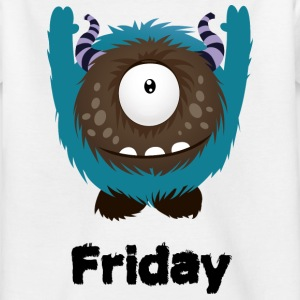 Fredag Monster T-shirts - T-shirt barn