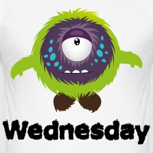 Woensdag Monster T-shirts - slim fit T-shirt