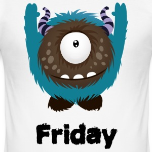 Friday Monster T-Shirts - Men's Slim Fit T-Shirt