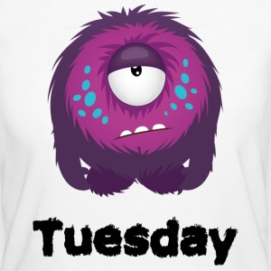 Tirsdag Monster T-shirts - Organic damer