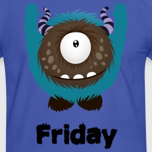 Friday Monster T-Shirts - Men's Ringer Shirt