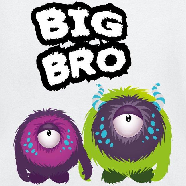 Big Bro Monster Langarmshirts