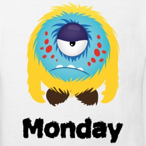 lundi Monster Tee shirts - T-shirt Bio Enfant