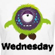 Mittwoch Monster T-Shirts