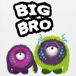 Big Bro Monster Tank Tops - Men's Premium Tank Top