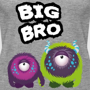 Big Bro Monster Tops - Camiseta de tirantes premium mujer