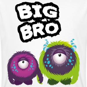 Big Bro Monster Magliette - T-shirt ecologica da uomo