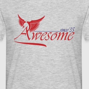 Awesome SINCE 1935 T-Shirts - Men's T-Shirt