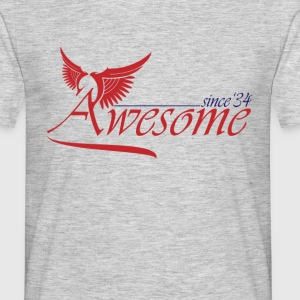 Awesome SINCE 1934 T-Shirts - Men's T-Shirt