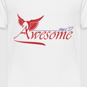 Awesome SINCE 1937 Shirts - Teenage Premium T-Shirt