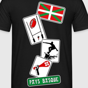 basque sport and tradition 11 Tee shirts - T-shirt Homme