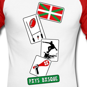 basque sport and tradition 11 Manches longues - T-shirt baseball manches longues Homme