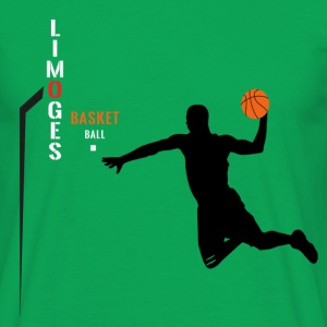 Limoges BasketBall dunk Tee shirts - T-shirt Homme