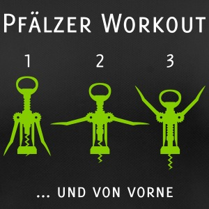 Pfälzer Workout T-Shirts - Frauen T-Shirt atmungsaktiv