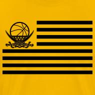 Motiv ~ Flaggen-Shirt (gelb)