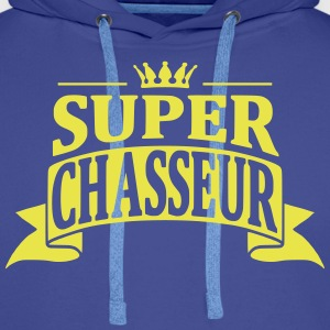 Super Chasseur Sweat-shirts - Sweat-shirt à capuche Premium pour hommes