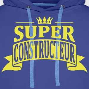 Super Constructeur Sweat-shirts - Sweat-shirt à capuche Premium pour hommes